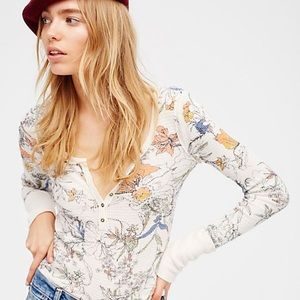 Free People David Floral Termal